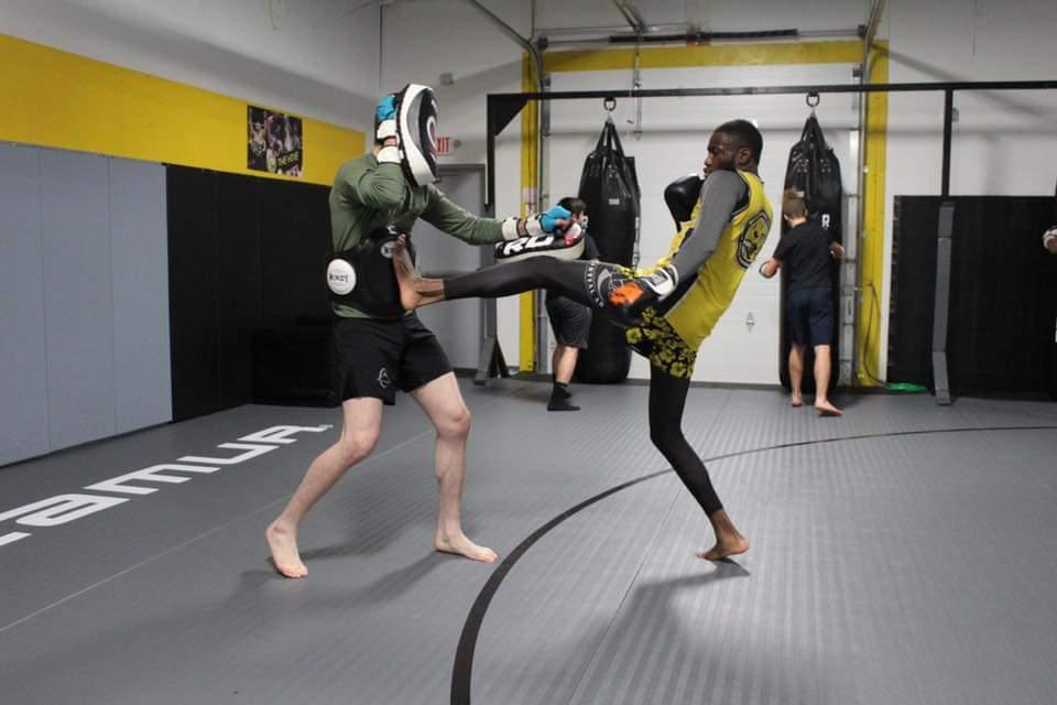 MMA Muay Thai Kick